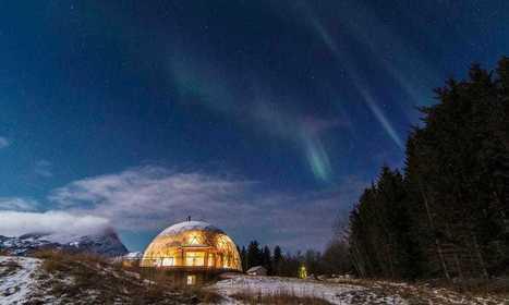 Cómo una familia vive en el Ártico en una casa de cob autosuficiente dentro de un domo geodésico solar | Permacultura y autosuficiencia | Scoop.it