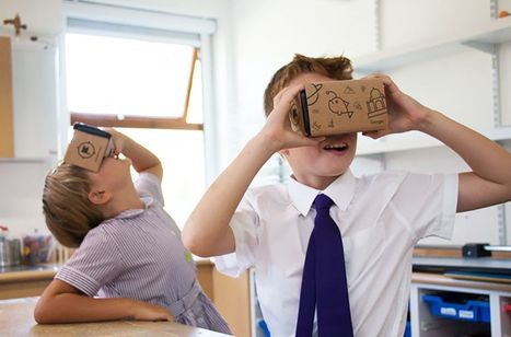 Google is bringing VR to one million UK school children | Augmented, Alternate and Virtual Realities in Higher Education | Scoop.it