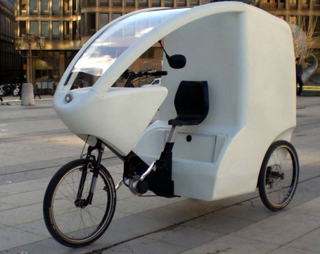 CycloCargo, l'ALTERNATIVE urbaine à la voiture? | Machines Pensantes | Scoop.it