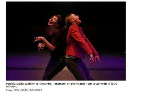 Jusqu'au 29.01 à #Genève #Théâtre #Avoir - Belle ode aux femmes amoureuses à l' #Alchimic - #culture #sortir   Art and culture   Scoop.it