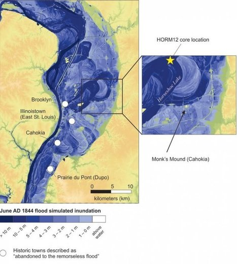 Mississippi megafloods wiped out biggest ancient Native American civilisation of Cahokia   Geology   Scoop.it
