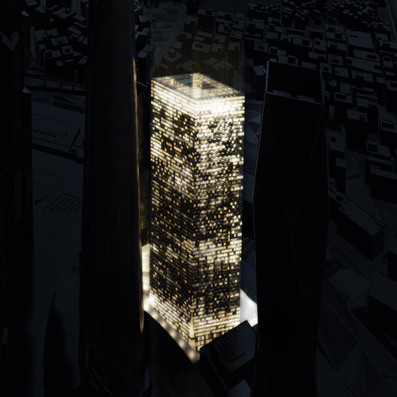 Skyscrapers in Seoul : The Blade by Dominique Perrault - Dezeen   The Architecture of the City   Scoop.it