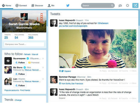 Twitter : vers une nouvelle interface pour le portail web | web@home    web-academy | Scoop.it