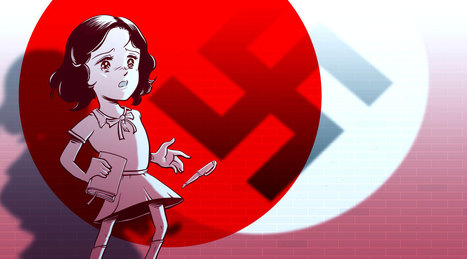Anne Frank au pays du manga - BD interactive | Français Langue Etrangère | Scoop.it