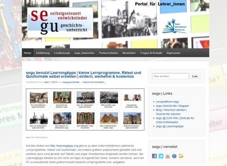 segu | neues Portal für Lehrer_innen | mit neuer Einführung: segu in sechs Schritten | segu_geschichte Magazin | Scoop.it