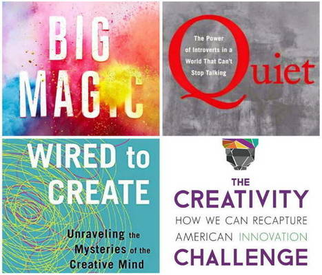 Four books on the creative mind – plus videos | Developing Creativity | Scoop.it