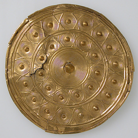 A Bronze Age Gold Disc from Co. Wexford | Irish Archaeology | Bronze Age | Scoop.it