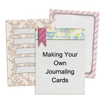 Making Journaling Cards | Well Loved Woman | Scoop.it