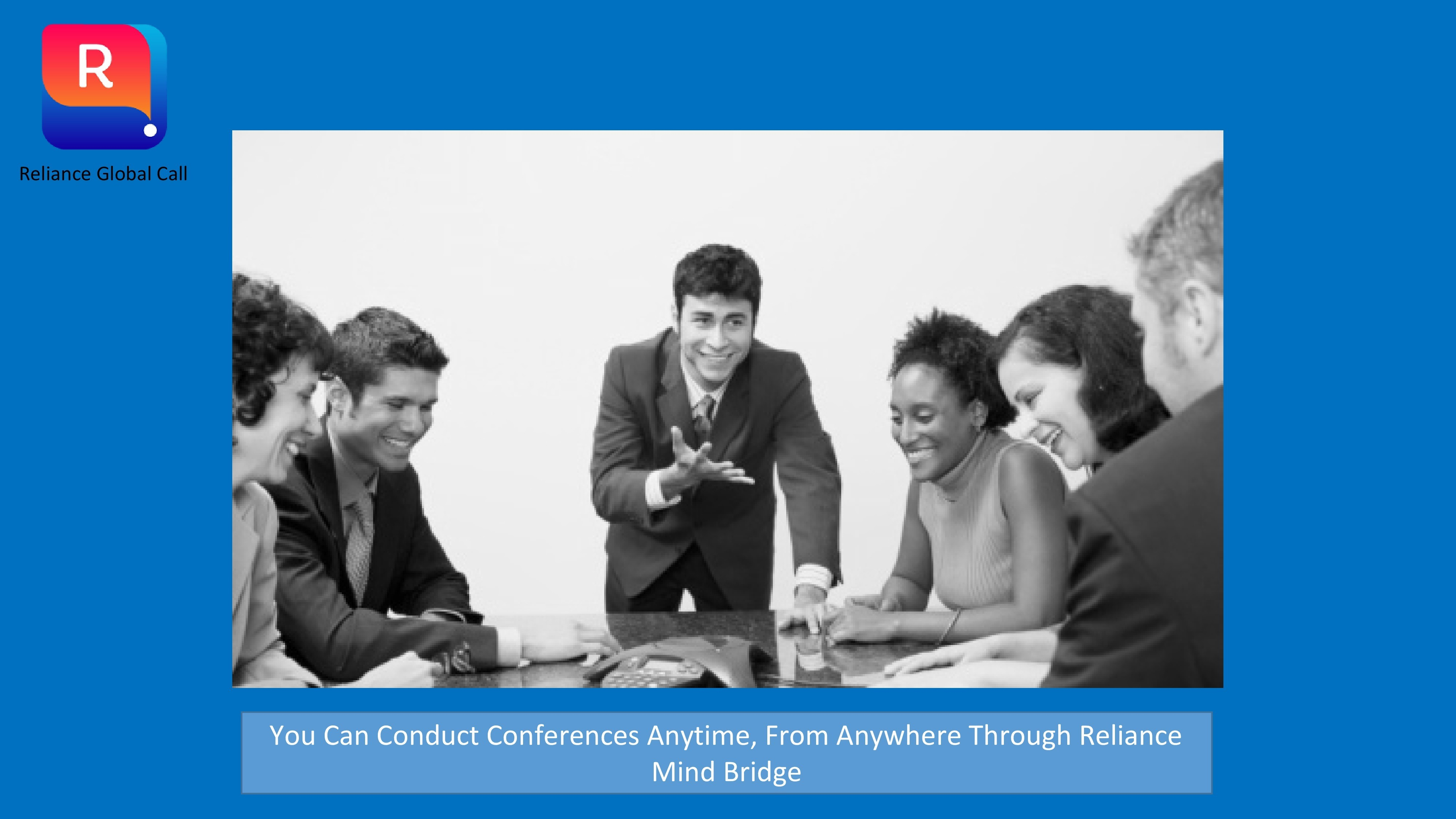 Set up a Conference Call - Reliance Mind Bridge