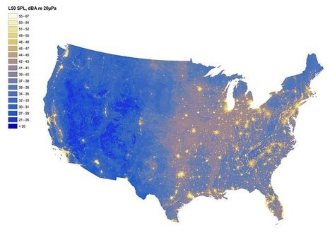 National Park Service Map Shows The Loudest, Quietest Places In the U.S. | Motorhome Madness | Scoop.it