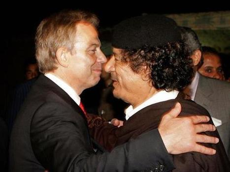 Tony Blair says he got David Cameron's permission to warn Colonel Gaddafi to flee Libya | Trade unions and social activism | Scoop.it