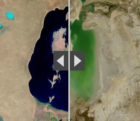 Human activities are reshaping Earth's surface | geography | Scoop.it