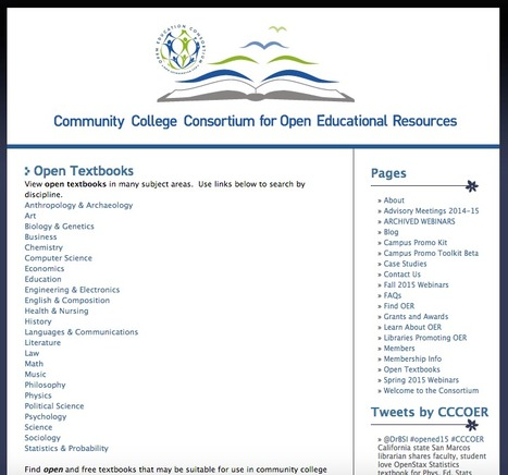 Open Textbooks | Innovación,Tecnología y Redes sociales | Scoop.it