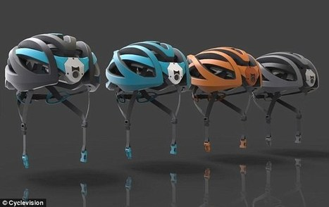 Hi-tech bike helmet has two cameras and gives 320 degree vision | Wearable Tech and the Internet of Things (Iot) | Scoop.it