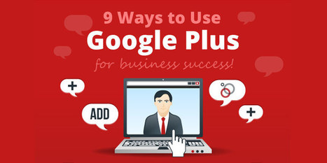 9 ways to use Google Plus for Business Success | B3 Multimedia Solutions | GooglePlus Expertise | Scoop.it