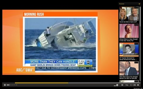 Marlin: 1; Fishing Boat: 0 | Xposed | Scoop.it