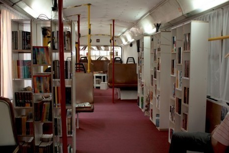 Bus –> Public library | Recyclart | LibraryLinks LiensBiblio | Scoop.it