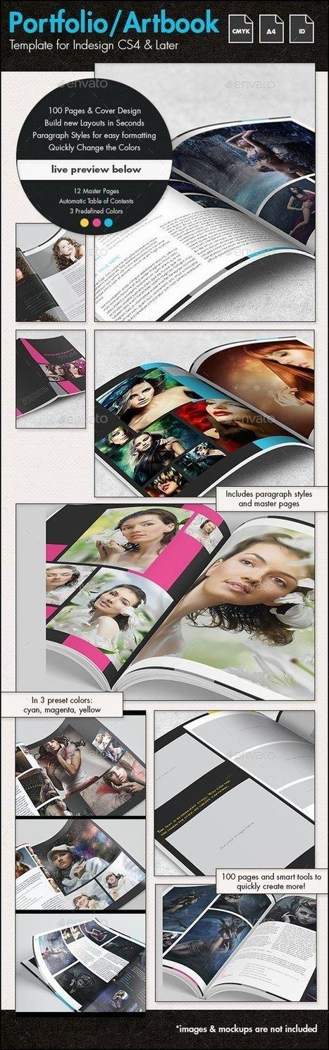 Photofolio & Artbook Template - A4 Portrait | About Photography | Scoop.it