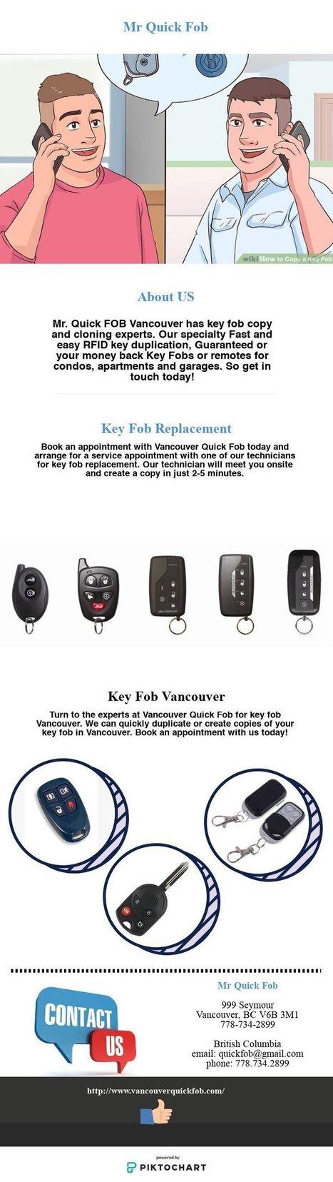 Vancouver Key Fob Copy | Scoop it