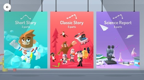 Google's Toontastic storytelling app for kids goes3D | Vous avez dit Innovation ? | Scoop.it