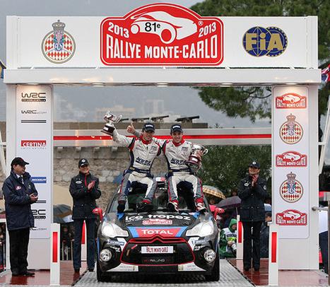 WRC. MONTE CARLO  : LA SUPERBE PERFORMANCE DE CHARDONNET-DE LA HAYE | Auto , mécaniques et sport automobiles | Scoop.it