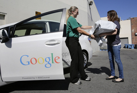 Google same-day shoppers order candy, baby food and climbing gear | Logistics & Supply Chain | Scoop.it