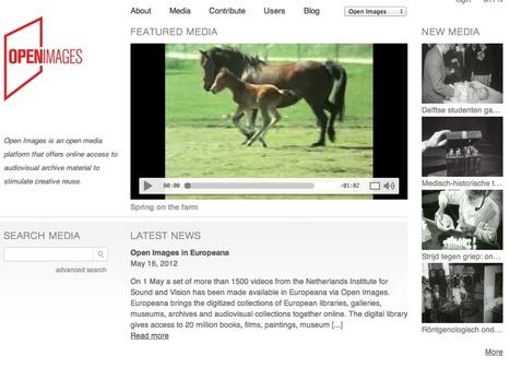 Home - Open Beelden   Video for Learning   Scoop.it