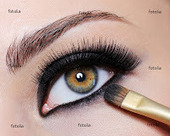 How to Wear Black Eye Make up in Right Way ~ Fashion World | Ultratress | Scoop.it