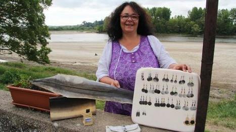 Sylviane, créatrice d'objets en cuir d'anguille   Métiers, emplois et formations dans la filière cuir   Scoop.it