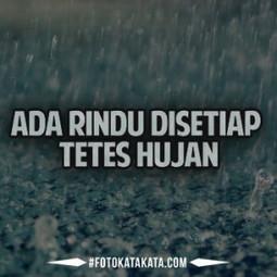 Gambar Kata Galau Sedih Saat Hujan Turun Foto