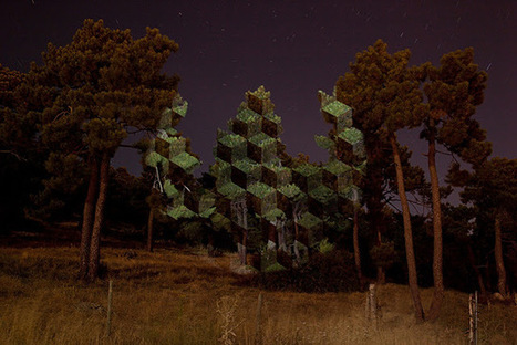 Junkculture: Outdoor Light Projections by Javier Riera | Studio Art and Art History | Scoop.it