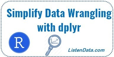 dplyr Tutorial (With 50 Examples) | Data is big | Scoop.it