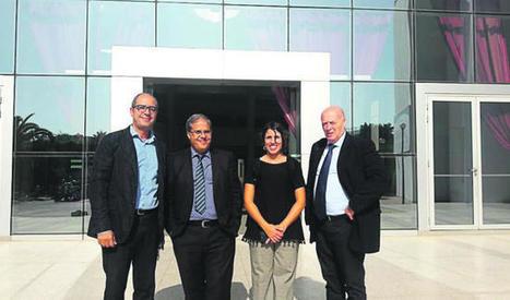 "AEI Tèxtils visita a su ""partner"" marroquí del clúster técnico C2TM"