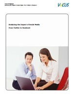 Whitepaper Analyzing the Impact of Social Media: From Twitter to Facebook | All in one - Social Media ROI | Scoop.it