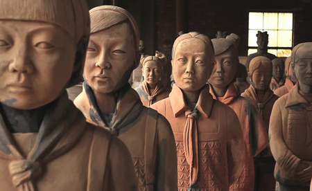 China: an army of  116 life-size 'Terracotta Daughters' | Gender-Balanced Leadership | Scoop.it