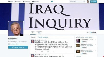 There's a Twitter bot tweeting out the entire Chilcot report | Twitter Bots | Scoop.it