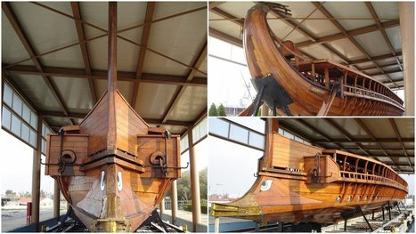 The Greek navy maintains a reconstruction of an ancient Athenian trireme, the HS Olympias | Nereides Diary | Scoop.it