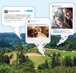 Tweet by tweet, Napa wineries master social media | Social media news | Scoop.it