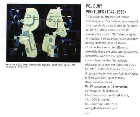 59a7ba3322d224 Pol Bury à la Laurentin Gallery - La Gazette Drouot (26 sept. 2014)