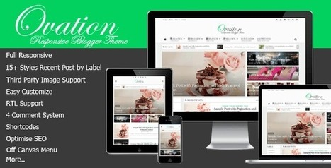 Free Download Ovation v1.0 – Blogger Theme News/Magazine Responsive | Blogger themes | Scoop.it