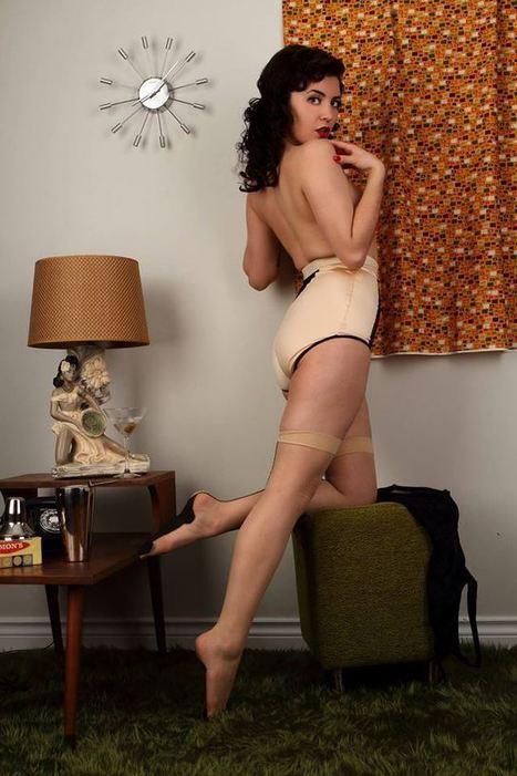 Pin Up Girl Ja'Nelle Gunn Keeping It Retro Sexy | Rockabilly | Scoop.it