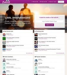 Listnerd. Créer, découvrir et partager des listes. | Les outils du Web 2.0 | Scoop.it