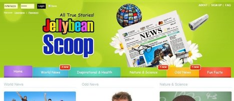 """""""Jellybean Scoop"""" Looks Like A Useful Reading/Writing Site For Students & Teachers 