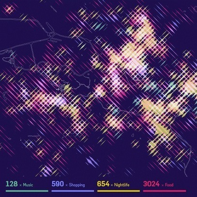 Well-formed data » Stadtbilder — mapping the digital shape of cities | informational landscapes | Scoop.it