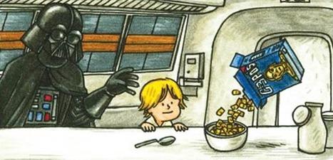 Et si Dark Vador était un bon père ? – 12 illustrations de Darth Vader and Son   Ufunk   au cul du c@mion   Scoop.it