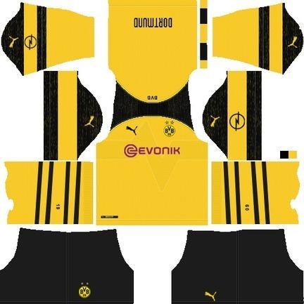 Dream League Soccer Kits Borussia Dortmund' in General | Scoop it