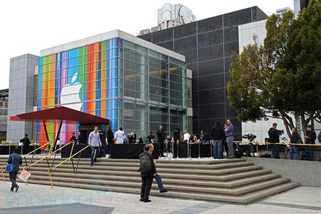 速報:アップル iPhone 5 発表イベント。新 iPod toucn, iPod nano, 新ヘッドホンも - Engadget Japanese | smartphone_jp | Scoop.it