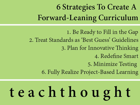 A Culture Of Inquiry Through A Forward-Leaning Curriculum | The Slothful Cybrarian | Scoop.it
