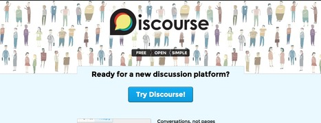 Discourse - A Discussion Platform. Ready For New Ideas? | Social and Collaborative Learning | Scoop.it