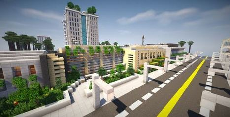 Clinton Modern Highschool Map | Minecraft mods